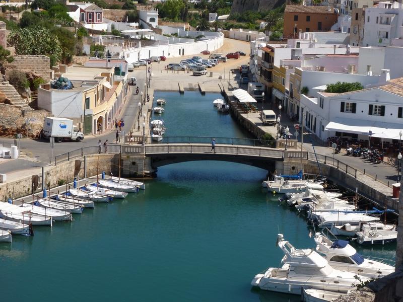 Port / Puerto de Ciutadella