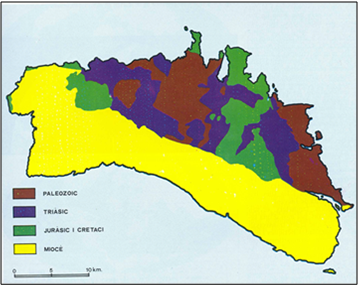 MAPA GEOLOGIC OBSAM
