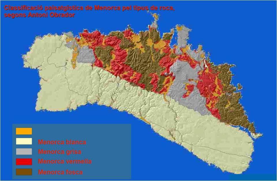 mapa tipus roca
