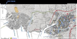 planol itinerari ciutadella