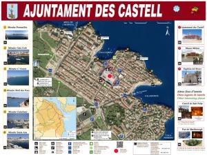 planol turistic Es Castell